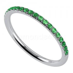 """טבעת""""רומנטיק"""" בזהב לבן וצבורייט"""