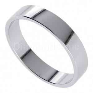 טבעת נישואים איידן בזהב לבן