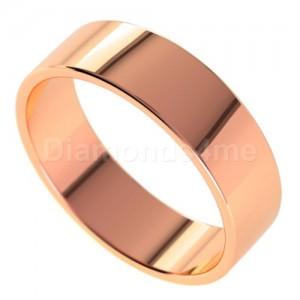 טבעת נישואים אגנר בזהב אדום