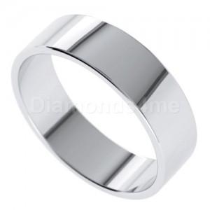 טבעת נישואים אגנר בזהב לבן