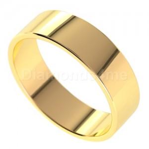 טבעת נישואים אגנר בזהב צהוב
