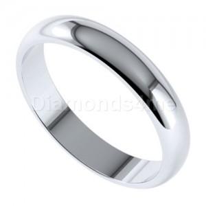 טבעת נישואים ארנט בזהב לבן