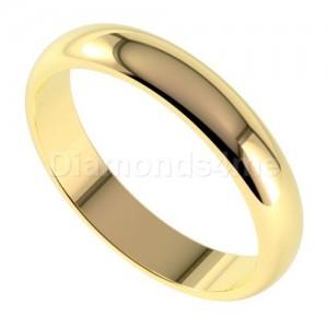 טבעת נישואים ארנט בזהב צהוב