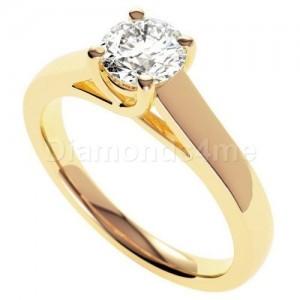 טבעת אירוסין אלדונה בזהב צהוב
