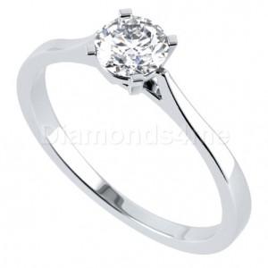 טבעת  אירוסין פליסיה בזהב לבן