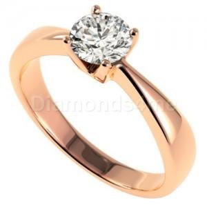 טבעת פרנסיסקה בזהב אדום