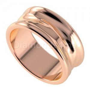 טבעת נישואים פררו בזהב אדום