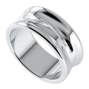טבעת נישואים פררו בזהב לבן