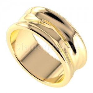 טבעת נישואים פררו בזהב צהוב